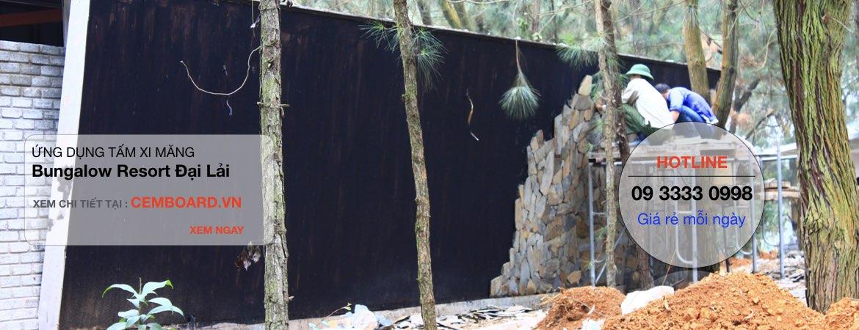 ốp đá tự nhiên lên tường tấm Cemboard Smartboard