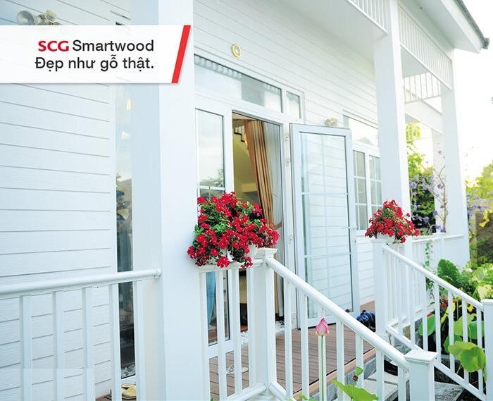 Ứng dụng dùng tấm SmartWood trang trí nhà cửa
